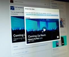 چگونه یک ویدیوی فیس بوک را در وب سایتتان تعبیه کنید (عکس)