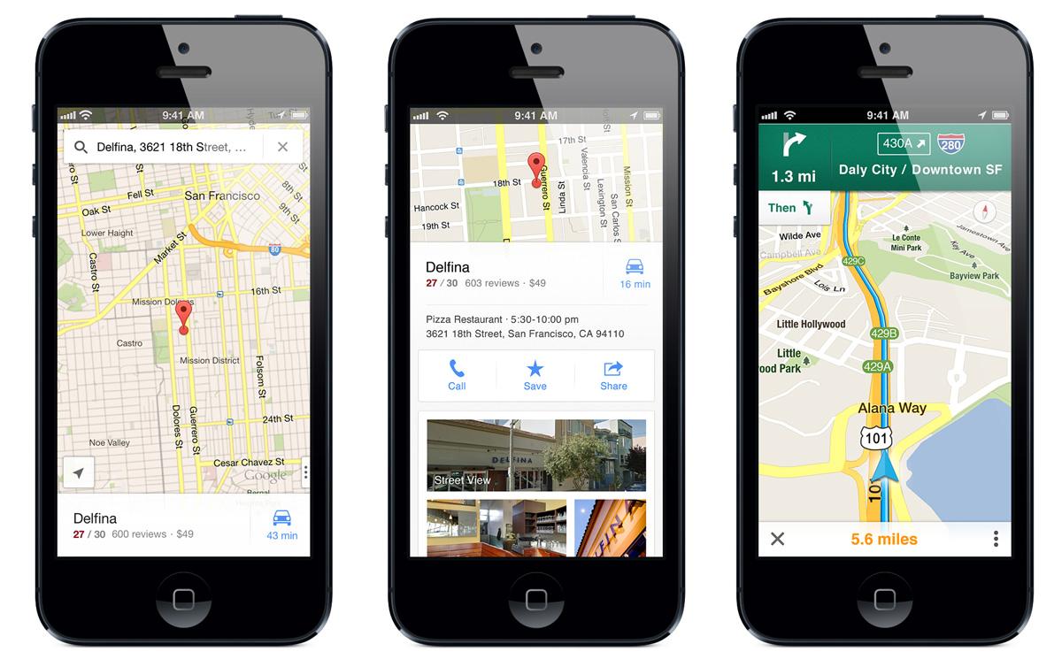 نقشه گوگل برای iOS چهار ویژگی اضافه کرده است
