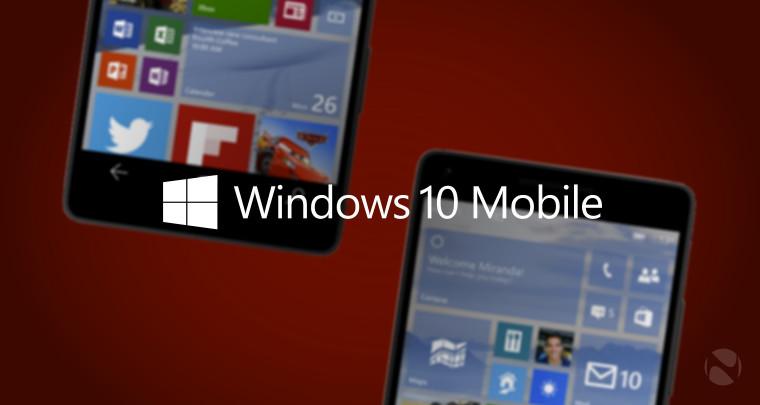 آمار استفاده جهانی از ویندوز 10 تلفن های همراه شروع به تغییر می کند