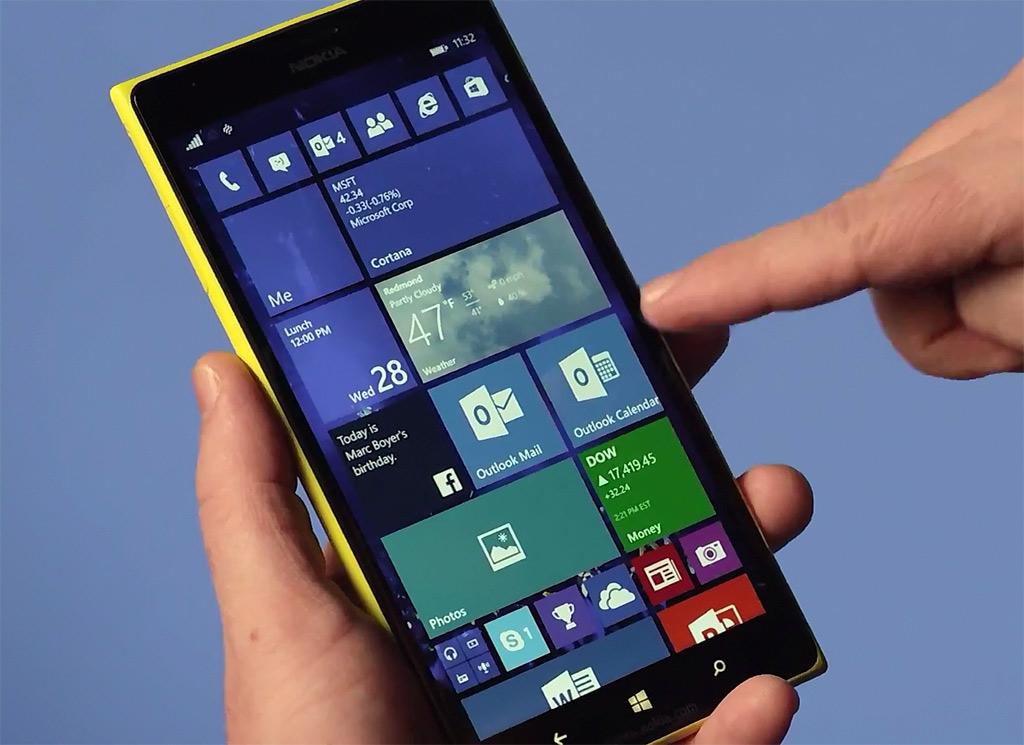 ویندوز 10 موبایل درمسیرگوشی های لومیای (Lumia) بیشتری قدم برمی دارد