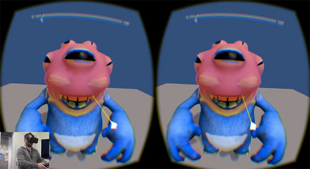 برنامه آکیولس، ژپتو ، به تازه کارها این امکان را می دهد که کاراکترهای انیمیشنیِ واقعیت مجازی بسازند