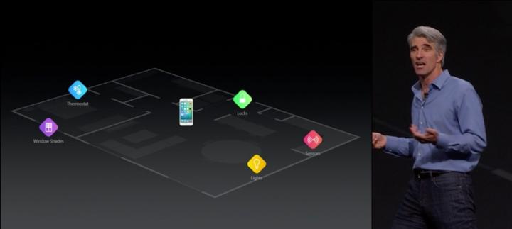 ساعت 11:12 : API های بیشتری می آیند. HomeKit هر نوع سنسور جدید، دستگاه های مانیتورینگ خانه، سنسورهای کربن مونوکسید و... را پشتیبانی می کند و به شما اجازه می دهد که توسط گوشیتان از طریق ابر آن ها را کنترل نمایید.