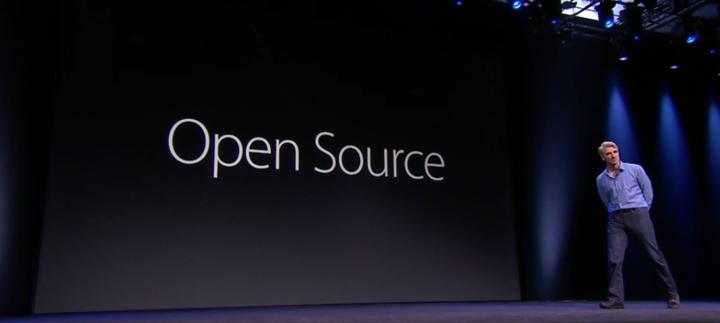 ساعت 11:14 : Swift 2، آخرین نسخه از زبان برنامه نویسی اپل و حالا به این نکته توجه کنید: Swift اپن سورس خواهد شد و این امر مورد تشویق و تمجید حاضران در کنفرانس شد.