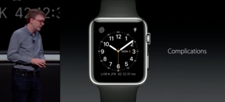 توسعه دهندگان نیز می توانند پیچیدگی های خودشان را در watchOS 2 داشته باشند (ویجت های کمی آپدیت ها و ابزارهای اندازه گیری را بر روی صفحه ساعت نمایش می دهند). همچنین ویژگی جدیدی به اسم Time Travel که به شما اجازه خواهد داد تا تاج (پیچ کنار ساعت) دیجیتالی آن را به آینده زوم کنید تا ببینید که چه اتفاقی خواهد افتاد.