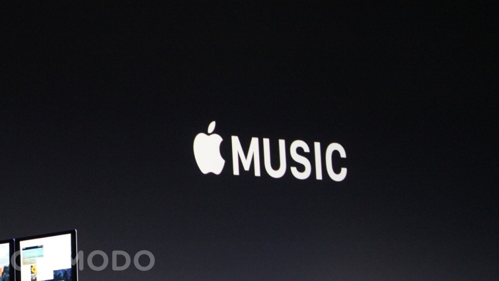 """ساعت 11:46 : اپل میوزیک (Apple Music)، تیم کوک گفت: """"فصلی دیگر در موسیقی. اپل میوزیک تجربه شنیدن موسیقی شما را تغییر خواهد داد."""
