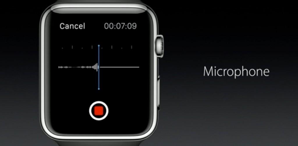 میکروفون و بلندگو ساعت اپل تا کنون فقط در موارد نادری قابل استفاده بودند. این امر در Watch OS 2 تغییر خواهد کرد، توسعه دهندگان می توانند اکنون در اپلیکیشن های خود از این قابلیت استفاده کنند.