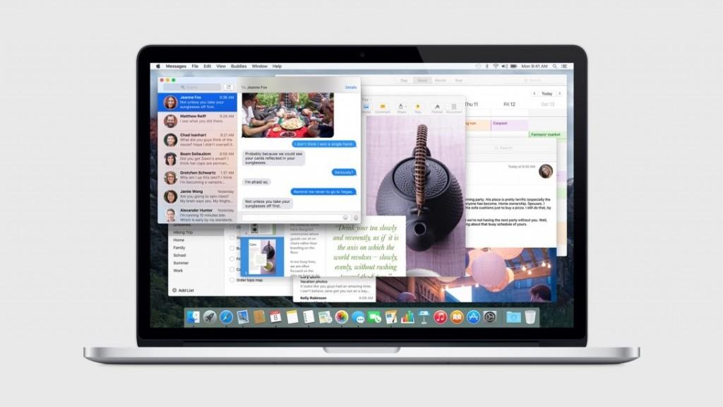 در خصوص نیاز های سخت افزاری تا کنون از اپل هیچ حرفی شنیده نشده است. گمان می رود که هر مک بوکی که با OS X 10.10 Yosemite کار می کند با ال کاپیتان هم کار خواهد کرد.