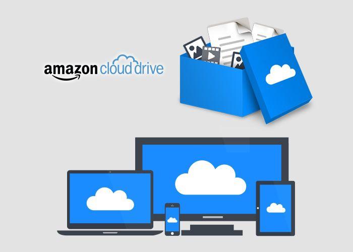 نرم افزارهای موبایل آمازون کلود درایو. برای رقابت با دیگر شرکت های ارائه دهنده خدمات ذخیره سازی ابری در دسترس کنونی مانند گوگل درایو، دراپ باکس و غیره، آمازون کلود درایو خدماتی را ارائه می دهد.