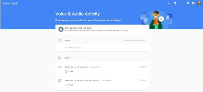 چگونه تاریخچه جستجوی صوتی گوگل خود را مشاهده و حذف کنیم