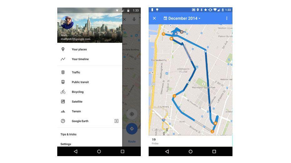 ویژگی جدید گوگل مپ امکان یاد آوری مسافرت های قدیمی را به شما می دهد
