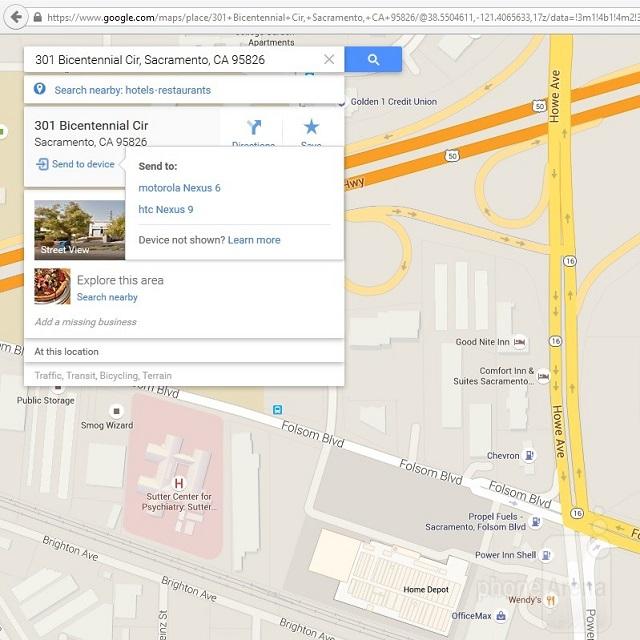 اطلاعات نقشه گوگل خود را از دسکتاپ به دستگاه اندرویدیتان انتقال دهید