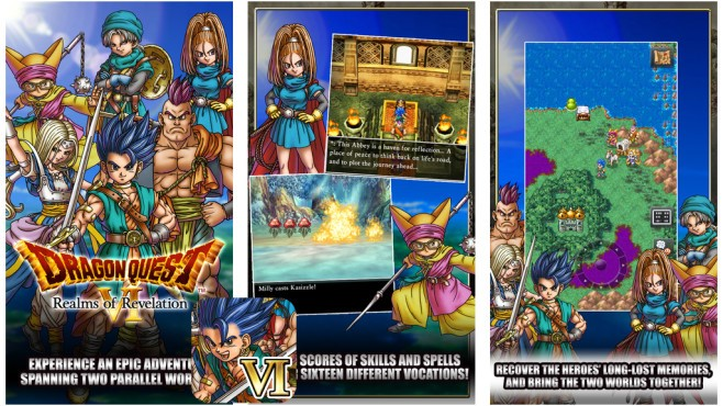 اپ روز: Dragon Quest 6