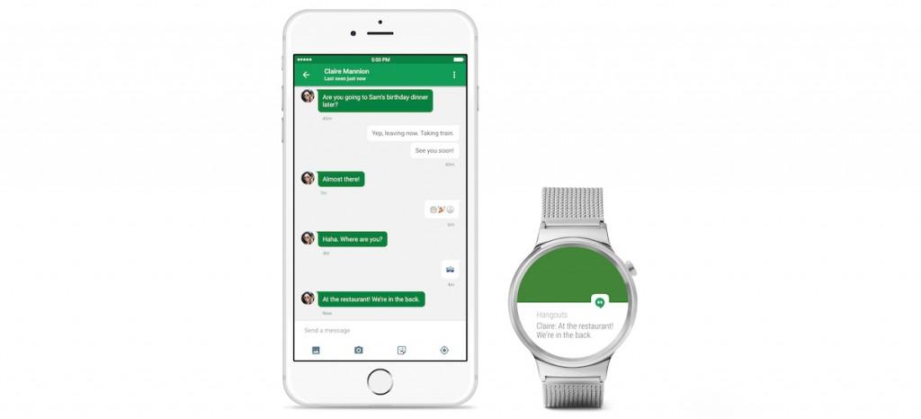 اندروید ویر(Android Wear). گوگل به طور رسمی اعلام کرد که اندروید ویر (Android Wear) برای کار با آیفون می آید.