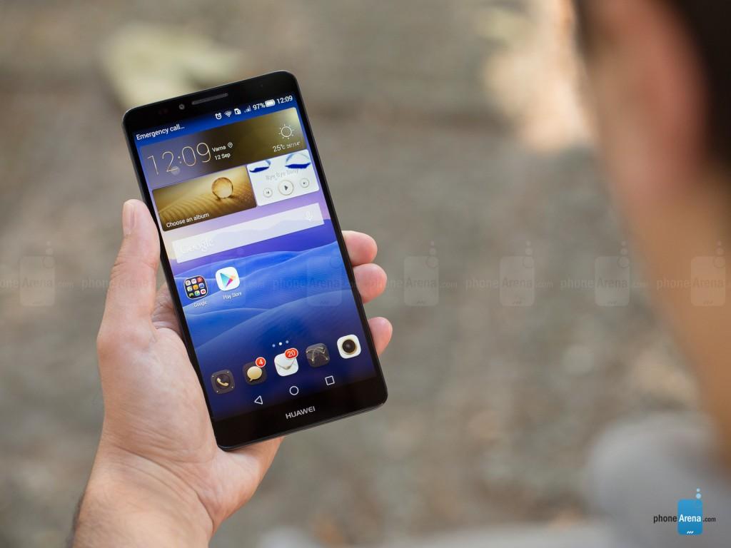 Huawei Ascend Mate7 /باتری :4100 میلی آمپر ساعت دوام: 9 ساعت و 3 دقیقه