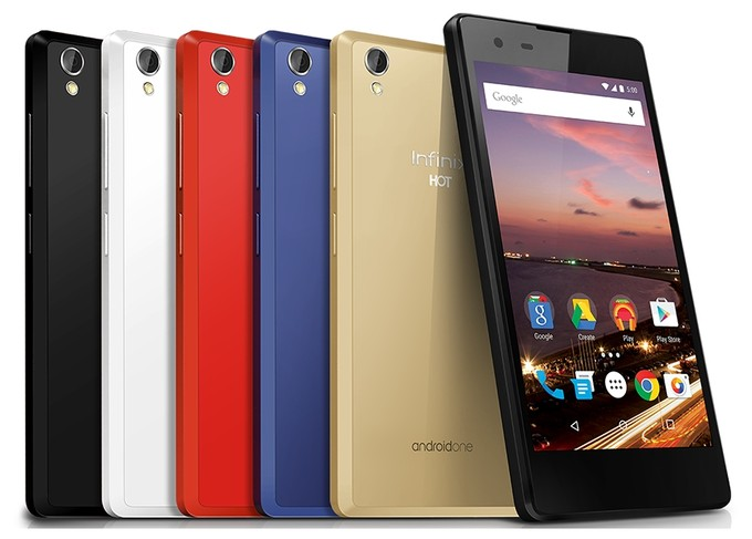 Infinix HOT 2 آخرین گوشی هوشمند مدل اندروید وان گوگل (ساخته شده برای آفریقا)