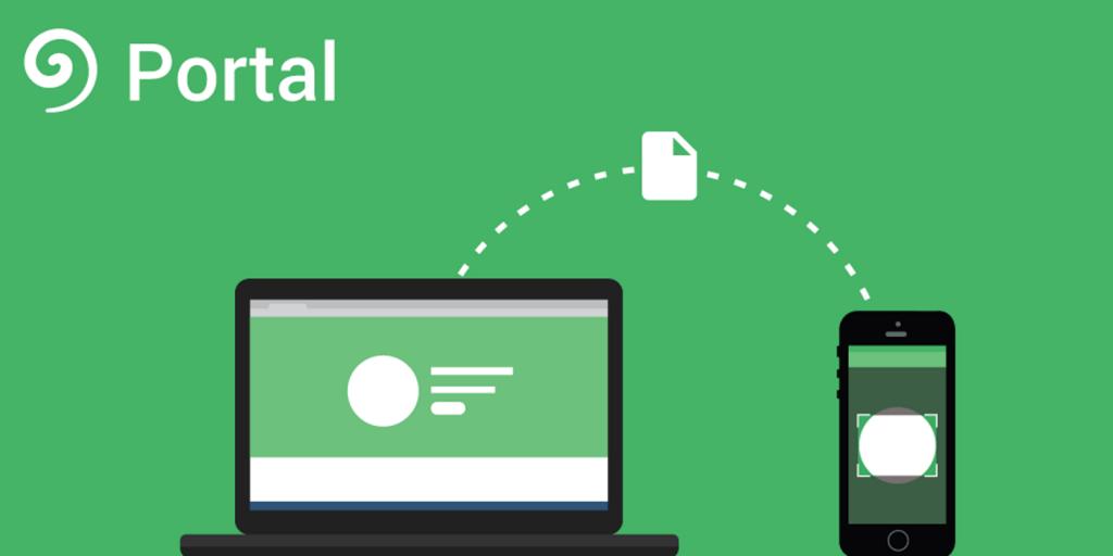 برنامه ی پورتال Pushbullet. پورتال، برنامه ی ارسال فایل رایگان Pushbullet برای آیفون، در دسترس قرار می گیرد