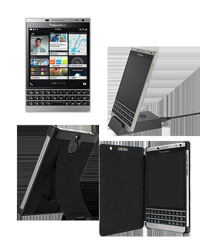 فبلت بلکبری سیلور ادیشن با طراحی صنعتی همراه با یک بدنه فولادی، لبه های منحنی و یک صفحه نمایش مربعی شکل عرضه شده و با سیستم عامل Blackberry 10 OS 10.3.2 کار می کند. بلکبری با رونمایی از بلکبری پاسپورت، کلکسیون پاسپورت خود را گسترش می دهد. این گوشی در وهله اول با ظاهر و با سیستم عامل جدیدش از دیگر مدل های پاسپورت متمایز می شود.