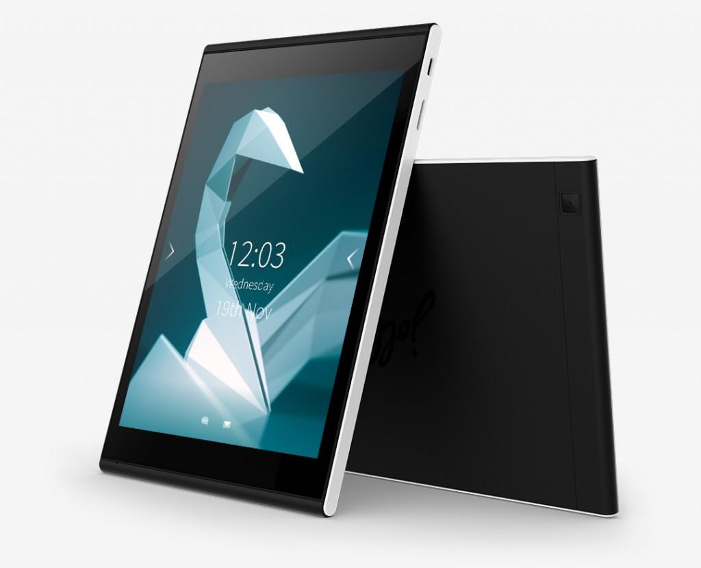 """جولا تبلت (Jolla Tablet). همه ی کسانی که این تبلت را از طریق Indirgogo سفارش داده بودند، تبلت های خود را در """"چند هفته ی آینده"""" دریافت خواهند کرد."""