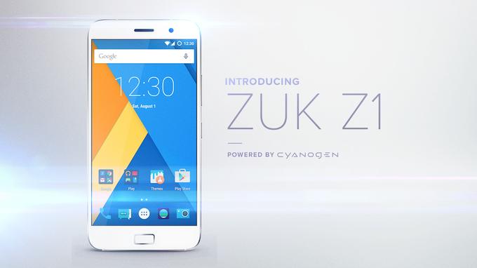 ارسال بین المللی ZUK Z1 در اکتبر