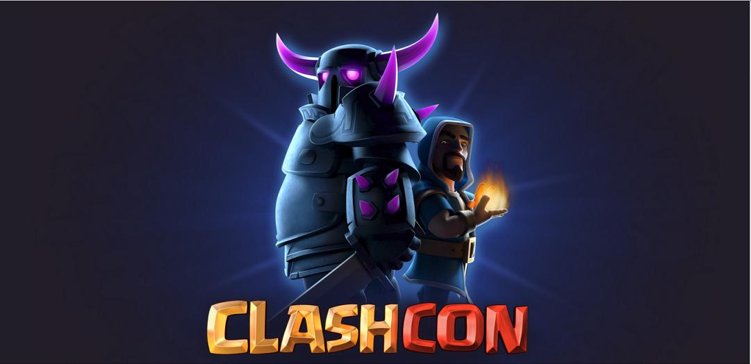 24 اکتبر، گرد هم آیی ابر قدرت های کلش اف کلنز در جشنواره ClashCon