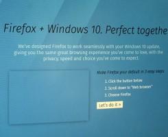فایرفاکس، امروز با انتشار نسخه 40، نقطه عطفی جدید ایجاد کرد. بزرگترین تغییر، بهبود سازگاری با ویندوز 10 است، هر چند نسخه های قبلی فایرفاکس هم قطعا با سیستم عامل جدید مایکروسافت به خوبی کار می کردند.