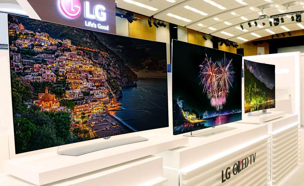 تلویزیون های OLED 4K ال جی برای عرضه آماده می باشند
