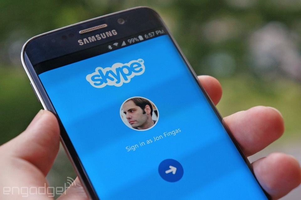 اسکایپ 5.10 اندروید امکان رینگ تن سفارشی و انتقال عکس دارد