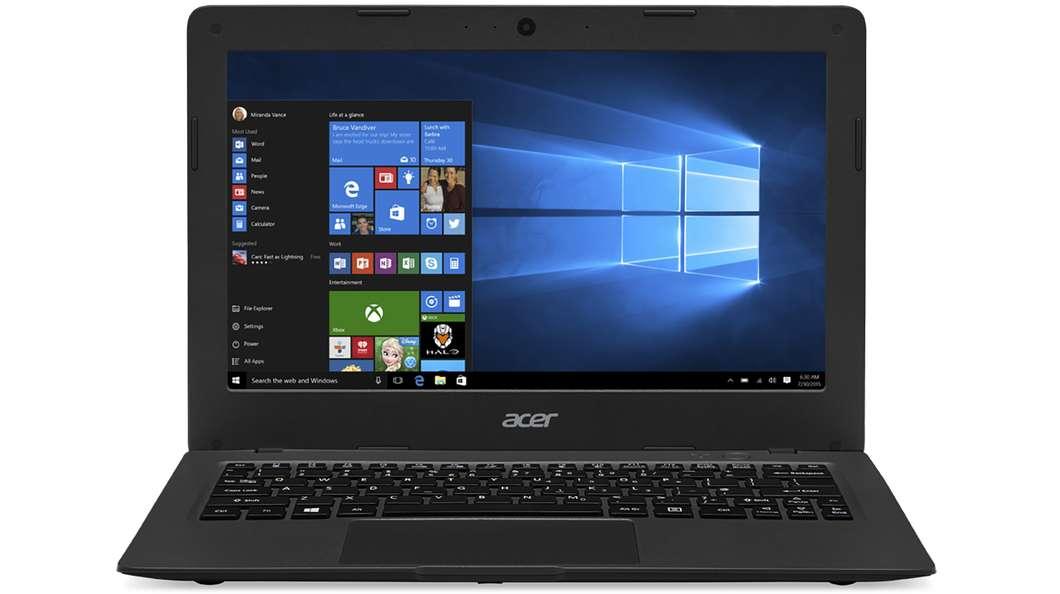Acer Aspire One Cloudbook 11  کسانی که می خواهند کروم بوک تهیه کنند شاید بهتر است کمی صبر نمایند. ایسر به تازگی یک دستگاه جدید و مقرون به صرفه با نام Aspire One Cloudbook 11 معرفی کرده است که به نظر می رسد رقیب جدی ای برای کروم بوک باشد (می توان گفت اصلی ترین تفاوت کلودبوک با کروم بوک در سیستم عاملی است که در حال اجرای آن می باشند). این نوت بوک صفحه نمایشی 11 اینچی به همراه ویندوز 10 داشته که تنها 2 گیگابایت رم و 32 گیگابایت حافظه داخلی می باشد، ایسر همچنین اشتراکی 1 ساله برای آفیس 365 و 1 ترابایت حافظه ذخیره سازی آنلاین وان درایو (OneDrive) به همراهِ آن ارائه می دهد. قیمت این کلودبوک از 169 دلار (560 هزار تومان) شروع شده و همان طور که اشاره کردیم، رقیبی جدی برای کروم بوک به حساب می آید.