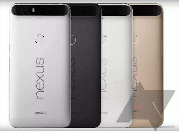 تلفن بزرگ نکسوس هوآوی در چهار رنگ ارائه می شود