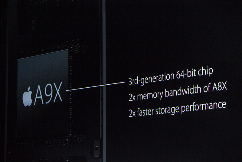 """"""" ما تکنولوژی ای که در مک بوک رتینا خلق کرده بودیم را در آن استفاده کرده ایم.""""  شیلر درباره تراشه جدید A9 اپل صحبت می کند. نسل سوم تراشه 64 بیتی، سرعتی دو برابر در عملکرد حافظه"""