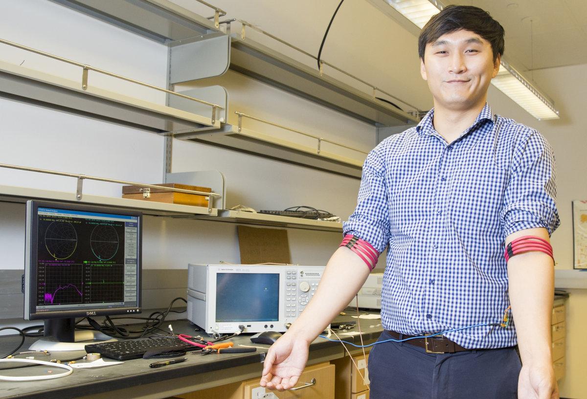 ارسال سیگنال از طریق بدن با جایگزین بلوتوث