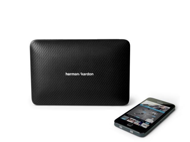 """و در نهایت به همراه این هدفون ها اسپیکرهای زیر هم عرضه شده است: بلندگوی JBL Boost TV به قیمت ۱۶۹.۹۹ پوند (حدود ۸۵۵ هزار تومان)، اسپیکر دستی و قابل حمل JBL Plus 2 Bluetooth با قیمت ۱۶۹.۹۹ پوند (حدود ۸۵۵ هزار تومان)، اسپیکر قابل حمل ماشین JBL Trip با قیمت ۷۹.۹۹ پوند (حدود ۴۰۰ هزار تومان) و اسپیکر قابل حمل فوق العاده باریک Harman Kardon Esquire 2 """"sophisticated"""" با قیمت ۱۹۹.۹۹ پوند (حدود ۱ میلیون تومان)."""