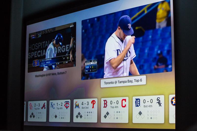 """ساعت 10:51 : کو گفت: """"شما می توانید یک ویدیو زنده مثل یک بازی بیسبال را از طریق آن ببینید، آن را تعاملی کنید، مثلا به آن آمار و جدول و ... اضافه کنید."""""""
