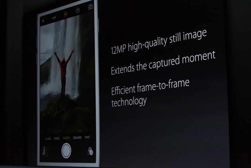 """""""این ها هنوز عکس هستند، آن ها ویدیو نیستند، بلکه عکس هایی 12 مگاپیکسلی با کیفیت بالا می باشند... اما ما لحظات عکس گرفتن را توسعه داده ایم به لحظه ای قبل و بعد از آنکه عکس می گیرید."""""""