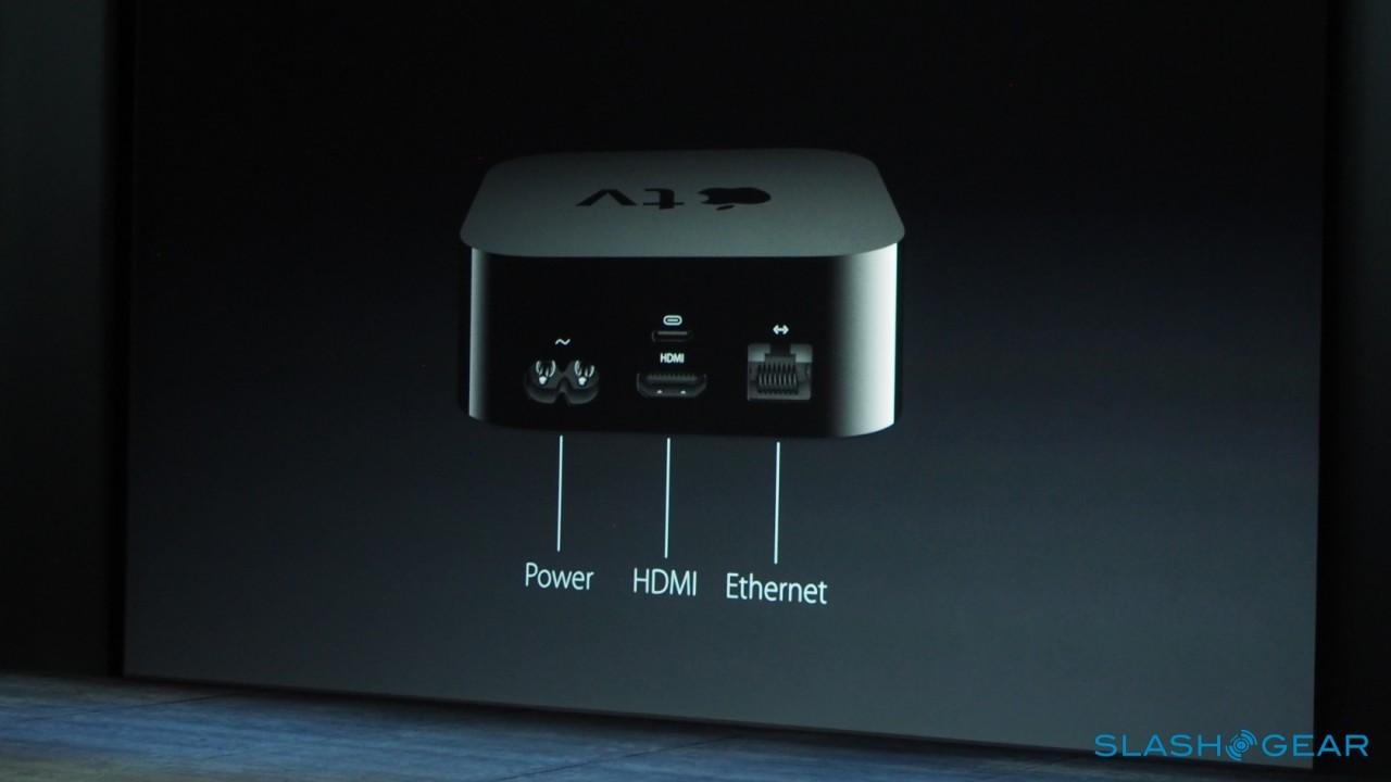 همچنین این دستگاه برای کنترل صدا از طریق اتصال HDMI اپل تی وی کار می کند و دارای پورت های Power، HDMI و Ethernet  می باشد.