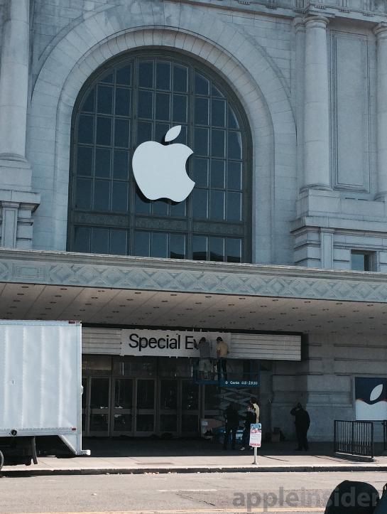 اپل برای رویداد روز چهارشنبه آماده می شود