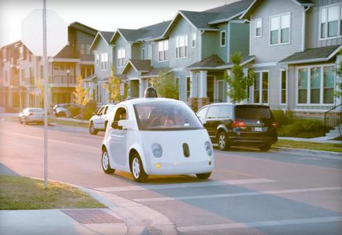 گوگل، اتومبیل جالب بدون سر نشین خود را در شهر آستین مستقر کرده است