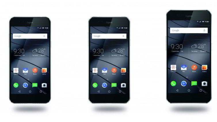 گیگاست از گوشی های هوشمند جدید خود رونمایی کرد