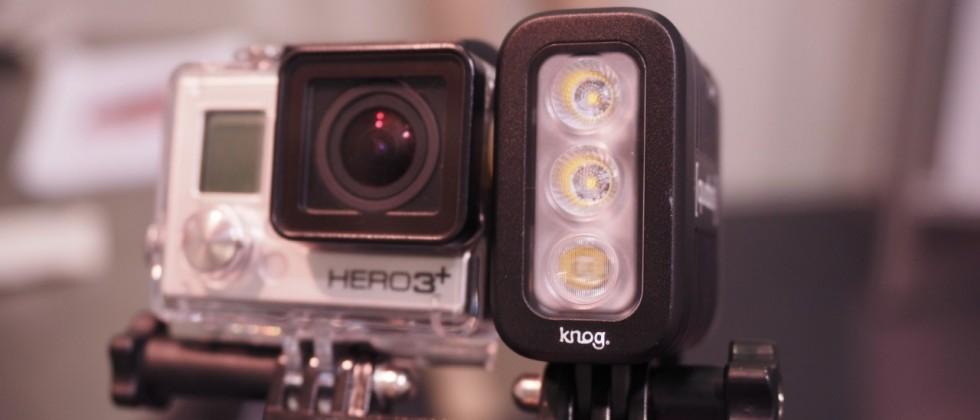 Knog Quodos: چراغی برای GoPro در شب