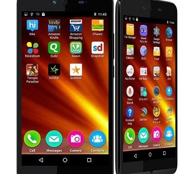 گوشی جدید میکرومکس با صفحه نمایش ۵ اینچی