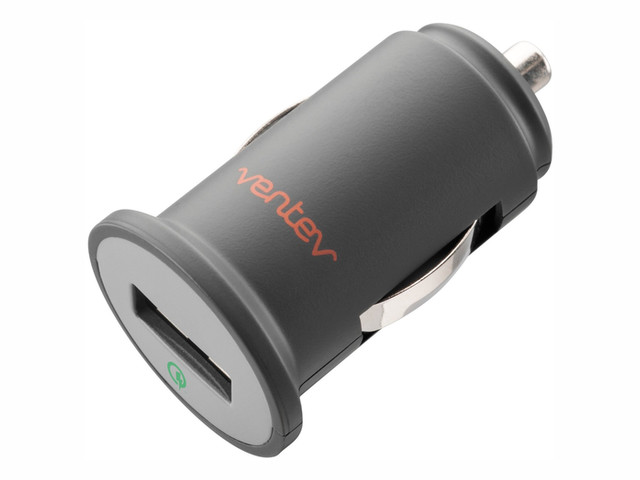 اگر گوشی هوشمند شما با قابلیت کوئیک شارژ سازگار است، این شارژر یک گزینه ی عالی می باشد. این شارژر می تواند باتری را به سرعت از طریق یک خروجی یو اس بی شارژ کند.