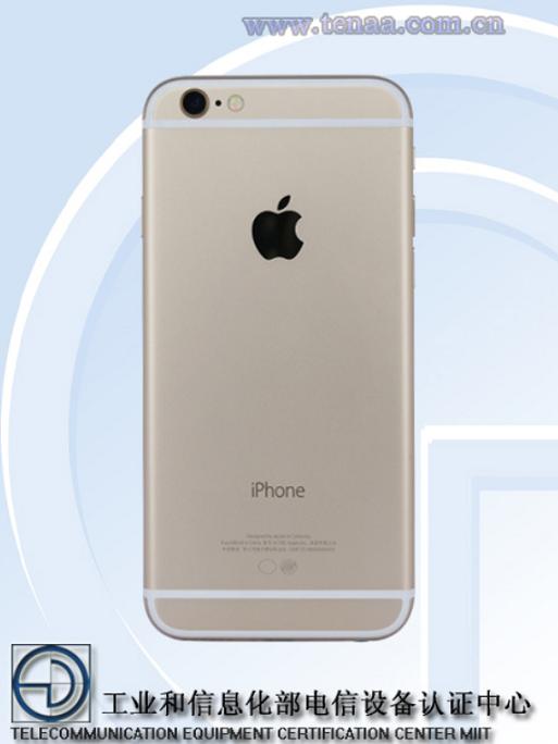 آیفون 6S اپل توسط آژانس چینی TENAA تایید شد