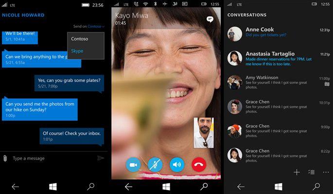 این برنامه ها نشان دهنده رویکرد جدید مایکروسافت در مورد اسکایپ است