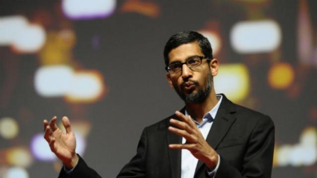 ساندار پیچای: گوگل برای راه اندازی خدمات وای فای در 500 ایستگاه، با راه آهن هند همکاری می کند