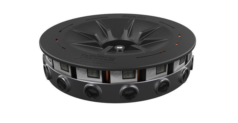 GoPro Odyssey یک وسیله واقعیت مجازی ۱۶ دوربینه می باشد که ۱۵۰۰۰ دلار قیمت گذاری شده است