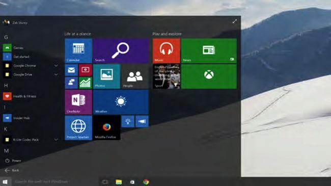 همه برنامه ها  با استارت منوی ویندوز 10، شما به تغییر کوچکی در نحوه دسترسی سریع به برنامه های نصب شده پی خواهید برد (که می توان گفت شبیه به ویندوز 7 می باشد). در پایین استارت منو، تبی با نام همه برنامه ها (All Apps) به شما این امکان را خواهد داد که لیستی از تمام برنامه های نصب شده بر روی کامپیوترتان پیش روی شما قرار گیرد تا دسترسی سریع و آسانی به آن ها داشته باشید.