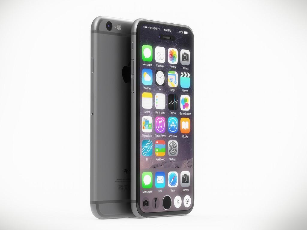 این یک تصویری از آیفون را در ذهن ایجاد می کند که در آینده این گوشی ها تماما صفحه نمایش باشند.