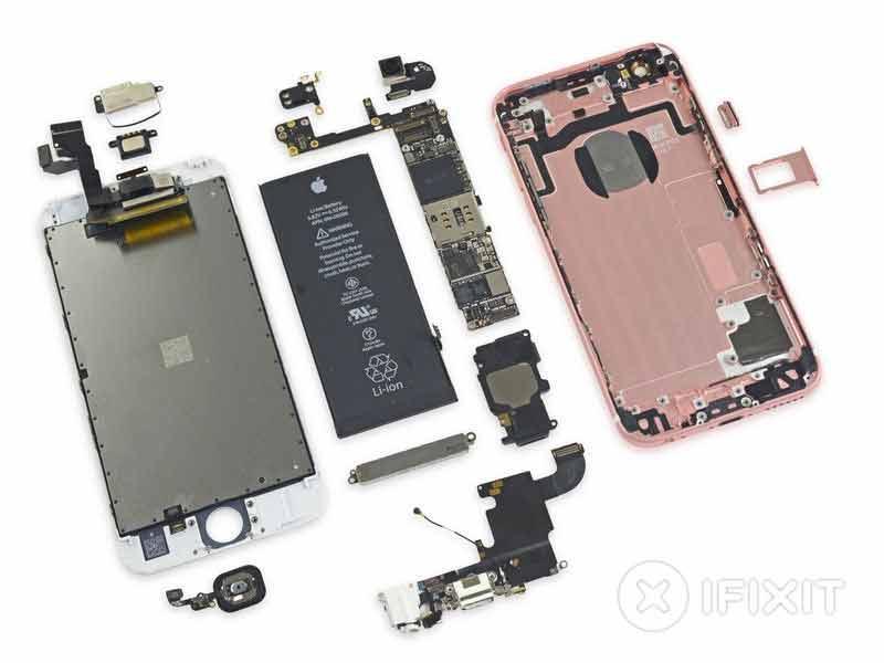 آیفون 6S باز و قطعه قطعه گردید ؛ 2 گیگا بایت RAM تایید شد