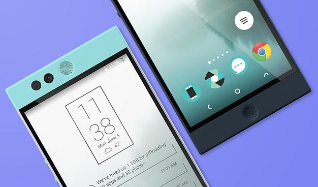 کمپانی نکست بیت در سال 2012 توسط کارمندان اسبق گوگل که بر روی توسعه اندروید کار می کردند، بنیان گذاشته شد. علاوه بر آن، مدیر طراحی شرکت، Scott Croyle، سابقه حضور در HTC را در کارنامه خود داشته و بر توسعه گوشی های هوشمندی از قبیل HTC Evo، HTC Incredible، HTC One M7 و HTC One M8 نظارت داشته است.