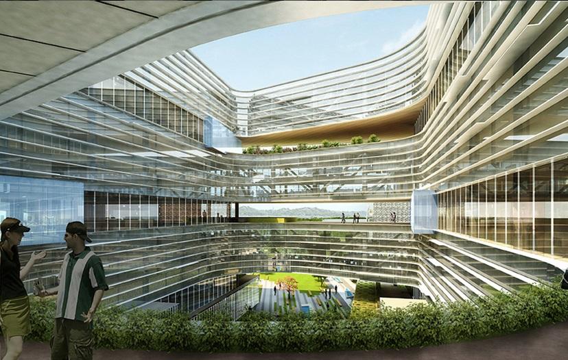 این دفتر با عظمت که 1.1 میلیون فوت مربع (حدوداً 102 هزار متر مربع) مساحت دارد، در سن خوزه قرار دارد و بنا دارد تا بیش از 2000 کارمند را در خود جای دهد. این سازه عظیم، خانه ای برای تیم تحقیق و توسعه (R&D) آمریکایی سامسونگ و همچنین واحد فروش و بازاریابی محلی آن، خواهد شد.